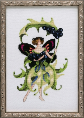 Nora Corbet NC227 Inkberry Holly  Pixie Blossom Collection