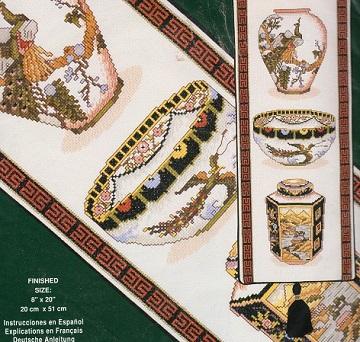 JCA 02101 Oriental beauty Bellpull