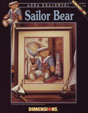 Sailor bear, Dimensions