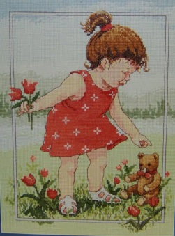 Janlynn 029-0059 Tulips for Teddy