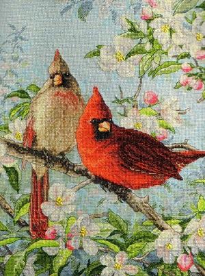 Bucilla 45479 Cardinals
