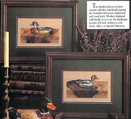 Duck season-Green -Winged Teal and Wood duck