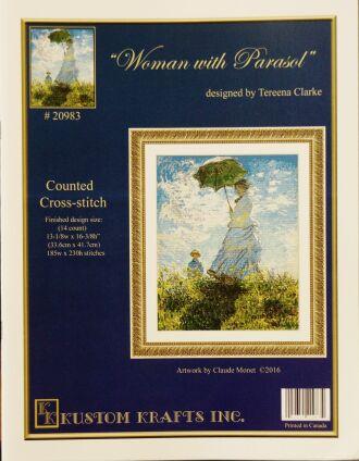 Kustom Krafts 20983 Woman with Parasol