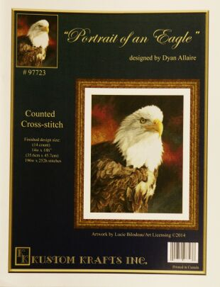 Kustom krafts 97723 Portrait of an Eagle