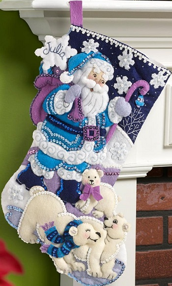 Bucilla 86653 Arctic Santa