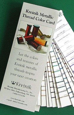 Kreinik B1950 Color Card