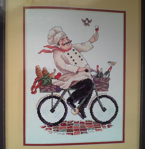 JCA 04715 Bicycling chef