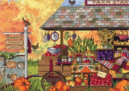 Janlynn 17-0111 Buck's county farm stand