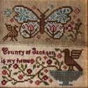 Butterfly garden,blackbird designs
