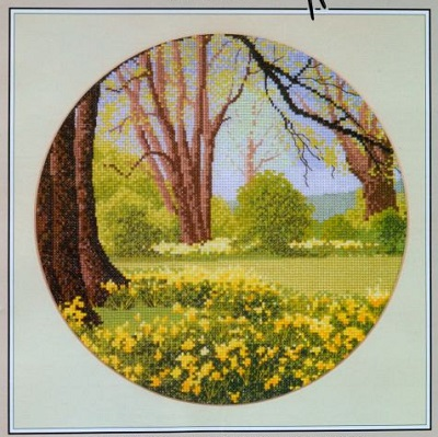 Heritage Crafts Daffodil Wood John Clayton circles