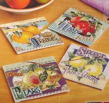 Janlynn 023-0470 Fruit coasters