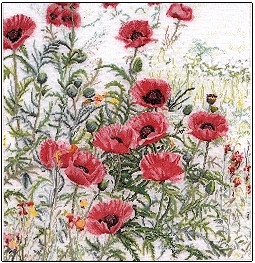 Thea Gouverneur GOK2061 Pink Poppies