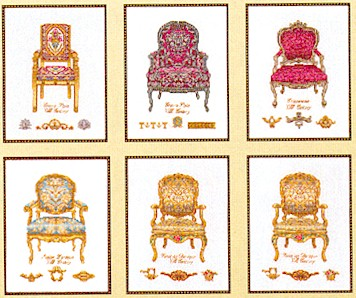 Thea Gouverneur GOK3068 Six chairs