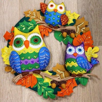 Owl Family by Irina