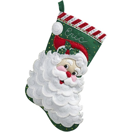 Bucilla 86648 Jolly St.Nick