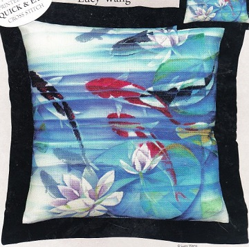 Candamar 51420  Koi fish and waterlily