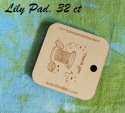 Lily Pad linen 32ct