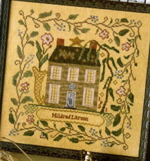 Mildred's garden house,blackbird designs