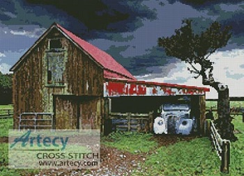 Kustom Krafts 2050 Old Barn in a Storm