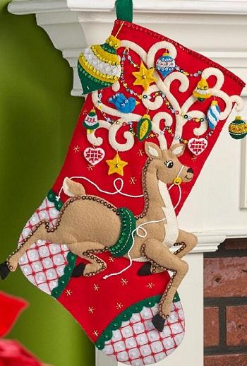 Bucilla 86652 Ornamental deer