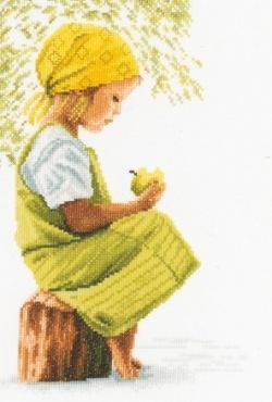 Lanarte PN-0021213 Girl with apple
