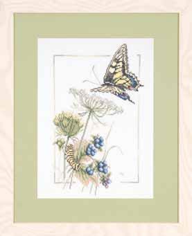 Lanarte PN21622 Blueberry Butterfly by Marjolein Bastin