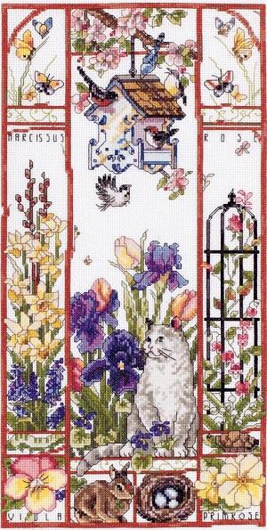 Janlynn 023-0589 Spring cat