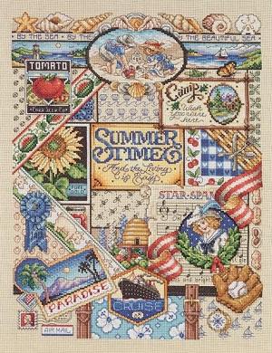 Janlynn 023-0347 Summer sampler