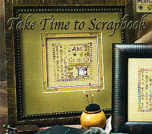 Take time to scrapbook