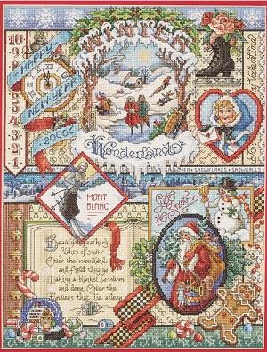 Janlynn 023-0384 Winter Sampler