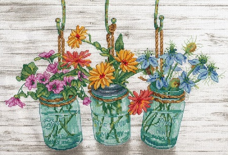 Dimensions 70-35378 Flower Jars