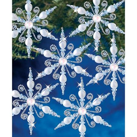 Beadery Light Sapphire Snowflake