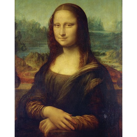 Royal Brush Mona Lisa Paint Your Own Masterpiece