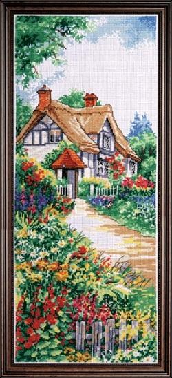Design Works 2768 Thatched cottage