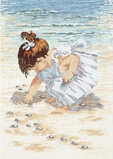 Janlynn 029-0019 Collecting shells