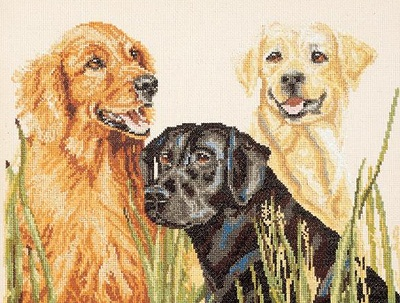 Janlynn 058-0005 Retrievers