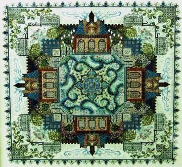 Victorian Garden Mandala