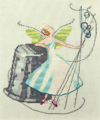Nora Corbett Stitching Fairies-Thimble Fairy #4