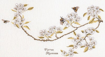Thea Gouverneur GOK1047 Bees and blossoms