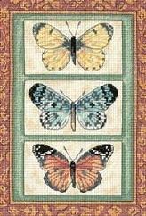 Dimensions 06914 Butterfly Triplex