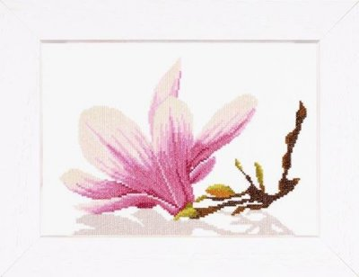 Lanarte PN8162 Magnolia Twig with flower