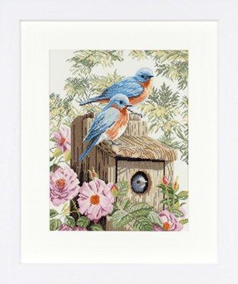 Lanarte PN8197 Garden bluebirds