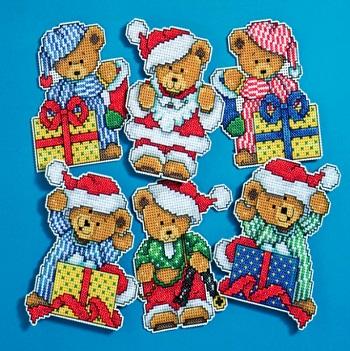 Design Works 1653 Little Christmas bears