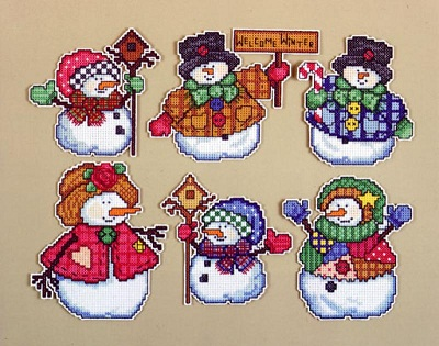 Design Works 1664 Welcome winter