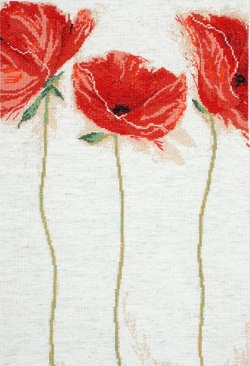 Design Works 2435 Flamenco Poppies