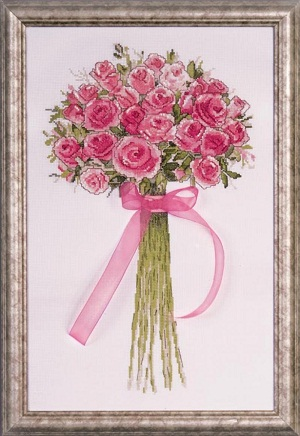 Design Works 2763 Rose bouquet