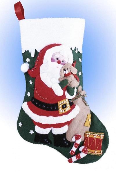 Design Works 5039 Santa with puppy