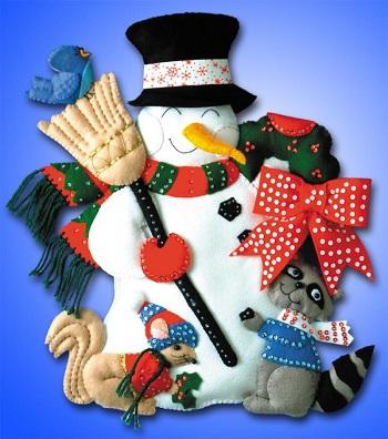 Design Works 5109 Snowman and animals