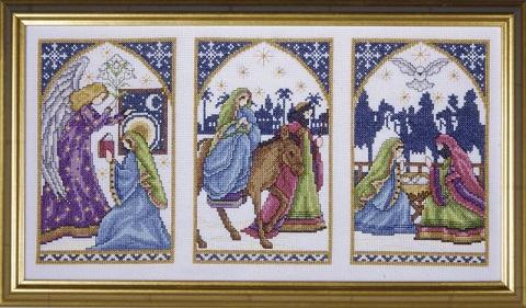 Design Works 5436 Nativity windows