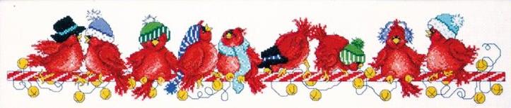 Design Works 5473 Jingle Birds